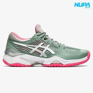 giày tennis asics court ff 2 - slate grey/ white